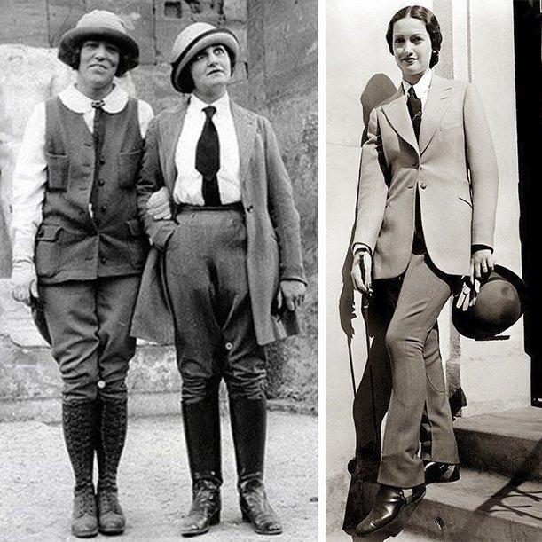 История стиля гарсон в одежде. Фото