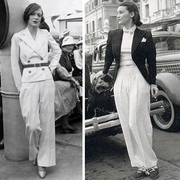 Стиль Гарсон. История одежды. Фотографии