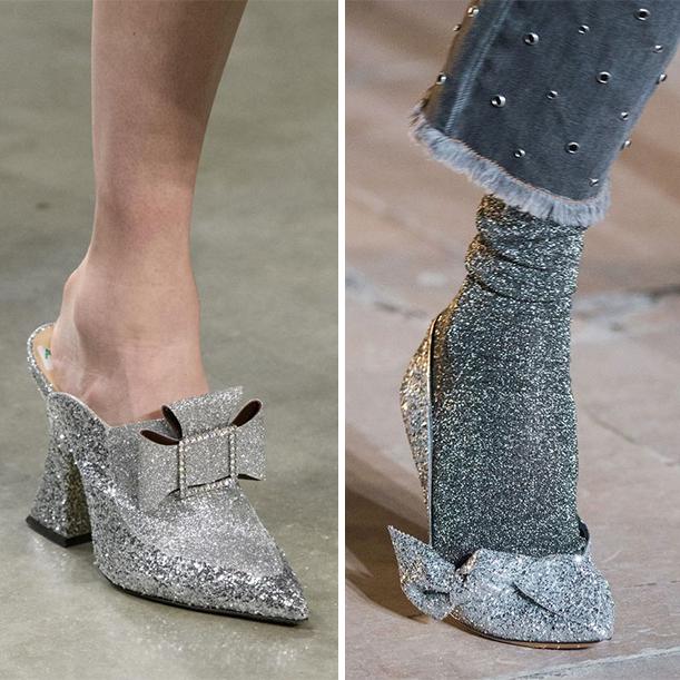 Модная обувь для Нового года