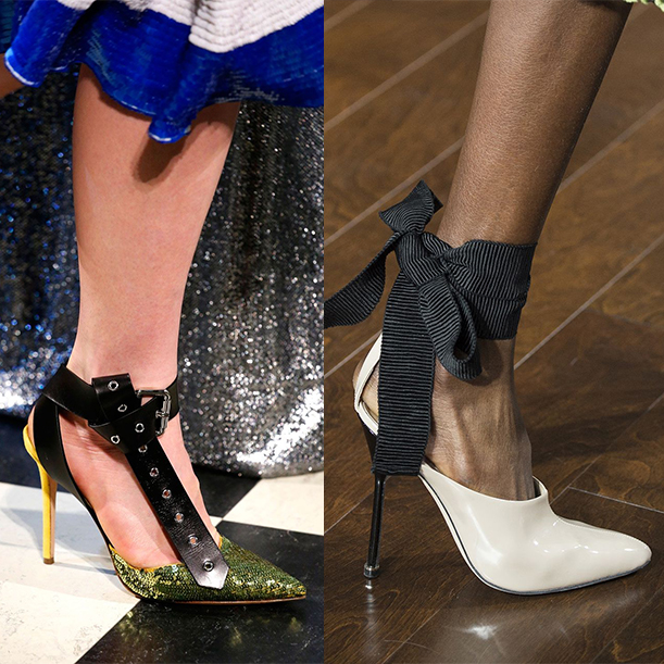 Модные туфли зима 2018