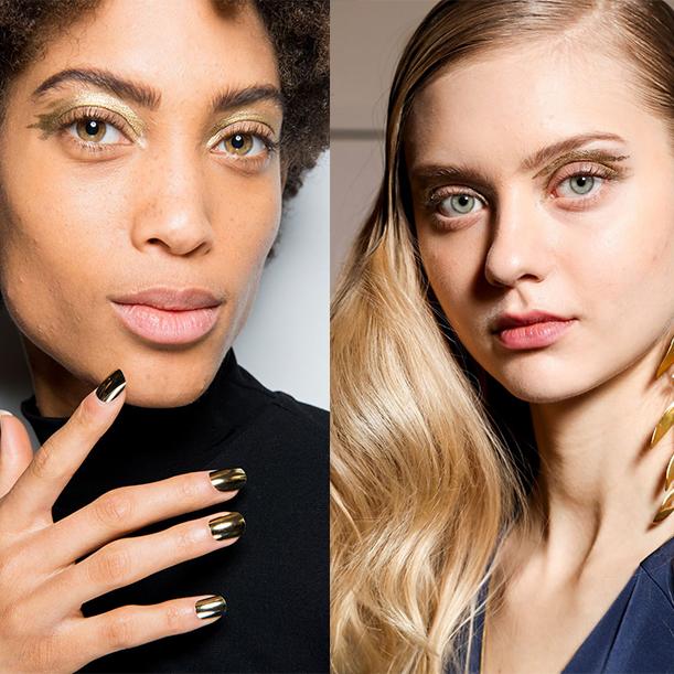 Идеи макияжа для нового года 2018