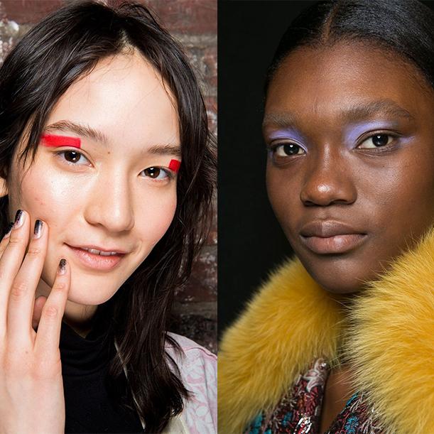 Мода макияж Осень зима 2017 2018
