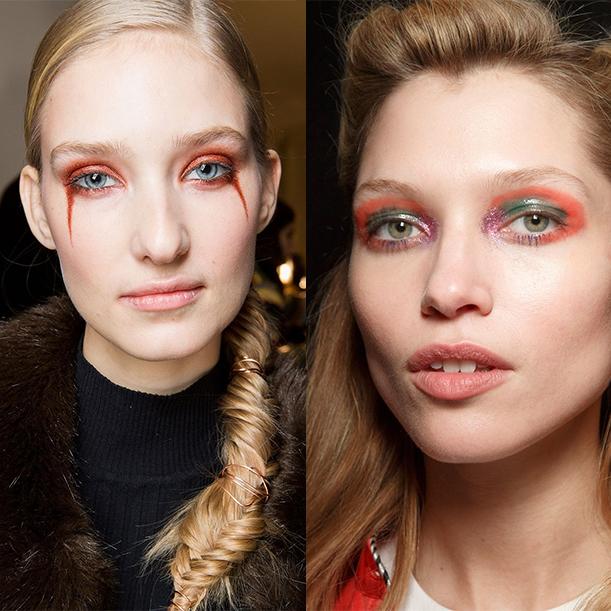 Можный макияж осень зима 2017 2018
