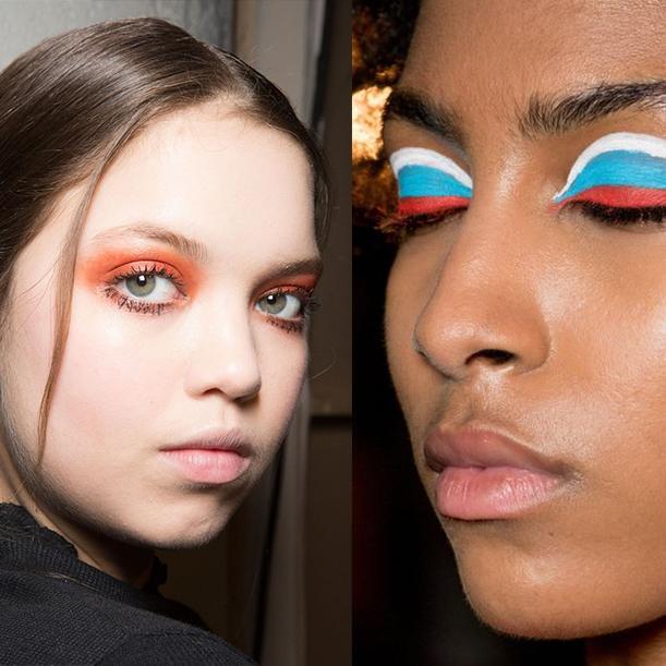 Идеи макияжа на новый год 2018. Фото примеры