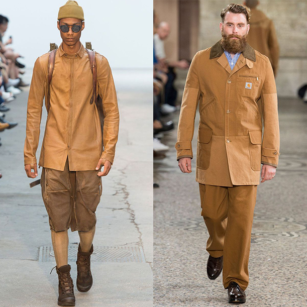 Модные цвета для мужчин весна лето 2018