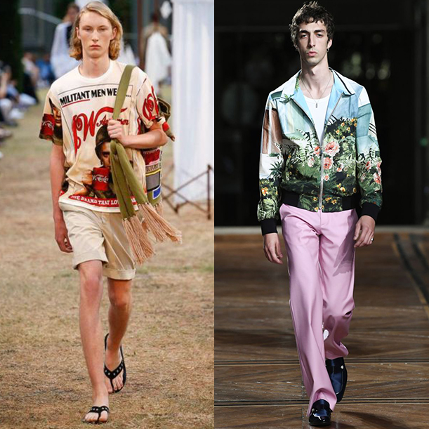 Какая мужская одежда в моде весной и летом 2018