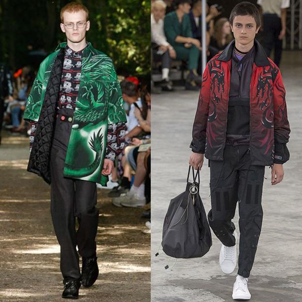 модная мужская одежда весна лето 2018