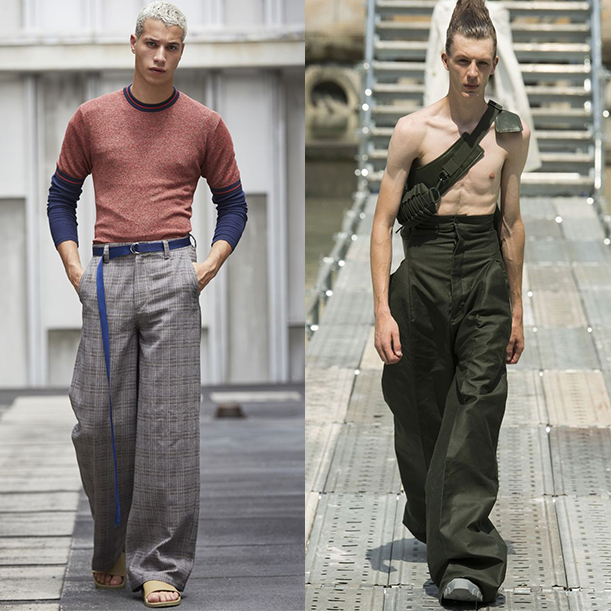мужская мода весна лето 2018 основные тенденции