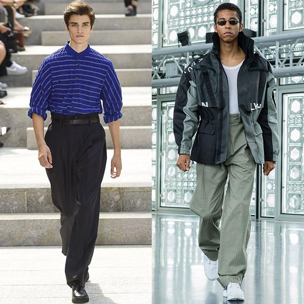 мужская мода 2018 весна лето фото примеры