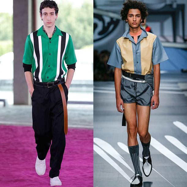 Модная мужская одежда весна лето 2017