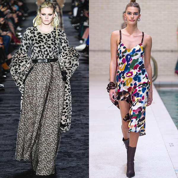 Модные принты на одежде. Осень зима 2018 2019
