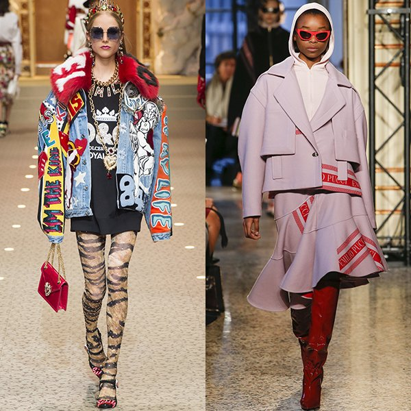 Мода в женской одежде осенью и зимой 2018 2019