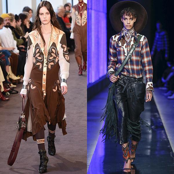 Мода в одежде осенью и зимой для женщин